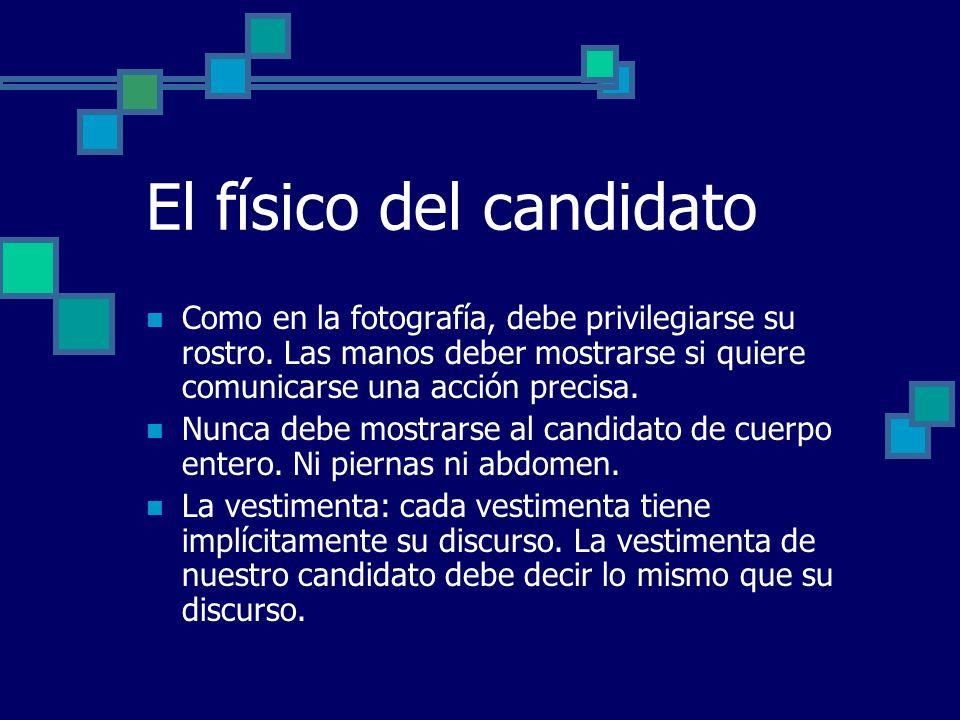 El físico del candidato