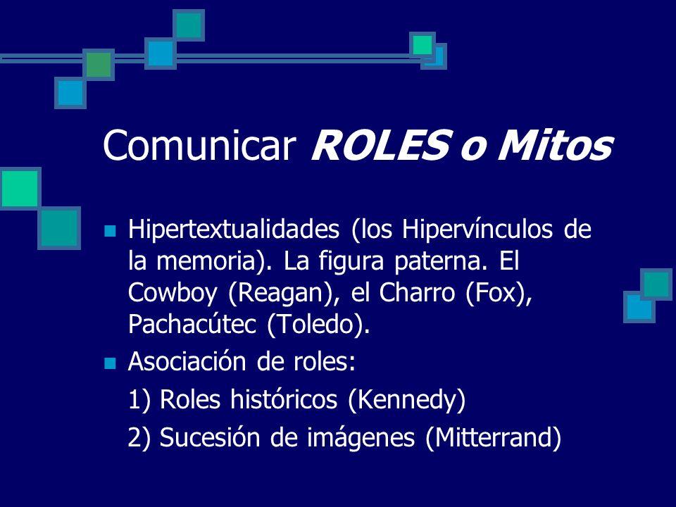 Comunicar ROLES o Mitos