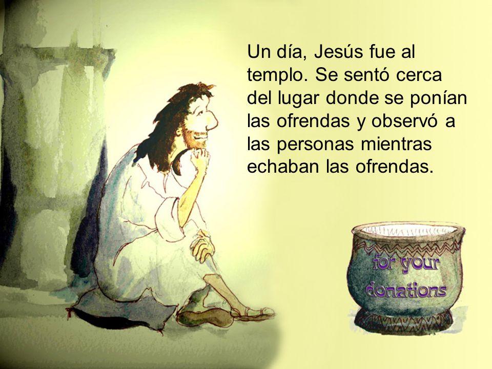 Un día, Jesús fue al templo