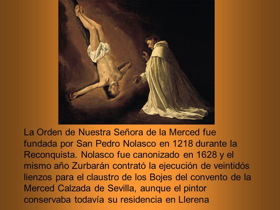 La Orden de Nuestra Señora de la Merced fue fundada por San Pedro Nolasco en 1218 durante la Reconquista.