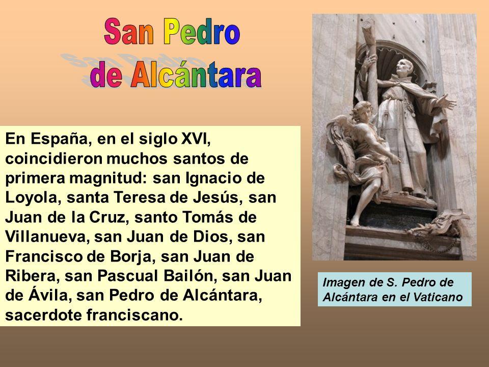 San Pedrode Alcántara.