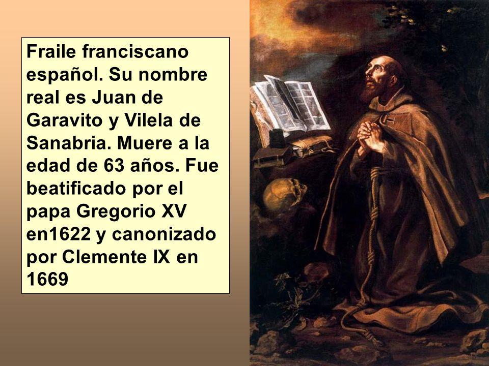 Fraile franciscano español