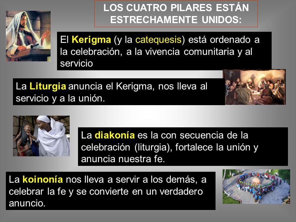LOS CUATRO PILARES ESTÁN ESTRECHAMENTE UNIDOS: