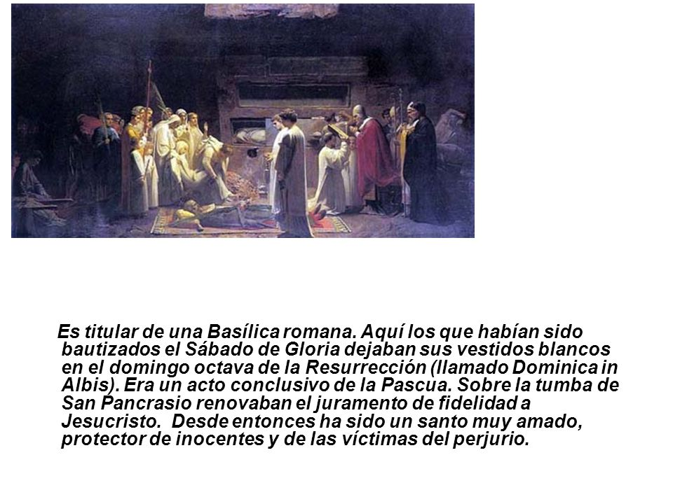Es titular de una Basílica romana