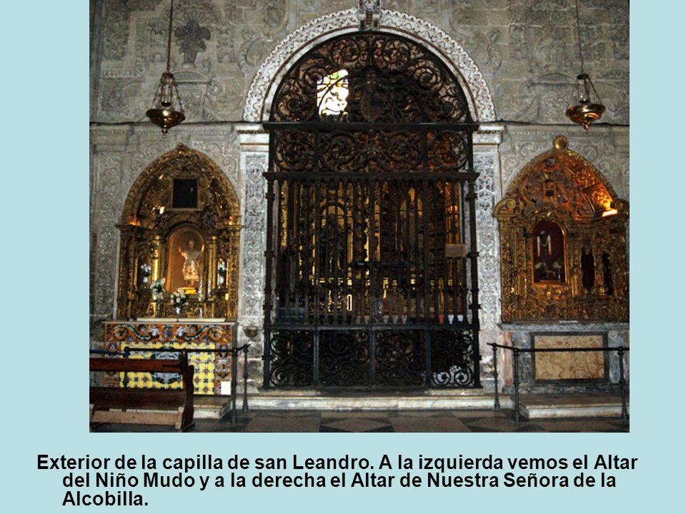 Exterior de la capilla de san Leandro
