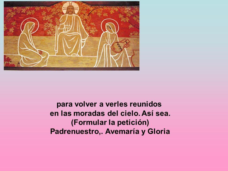 Padrenuestro,. Avemaría y Gloria