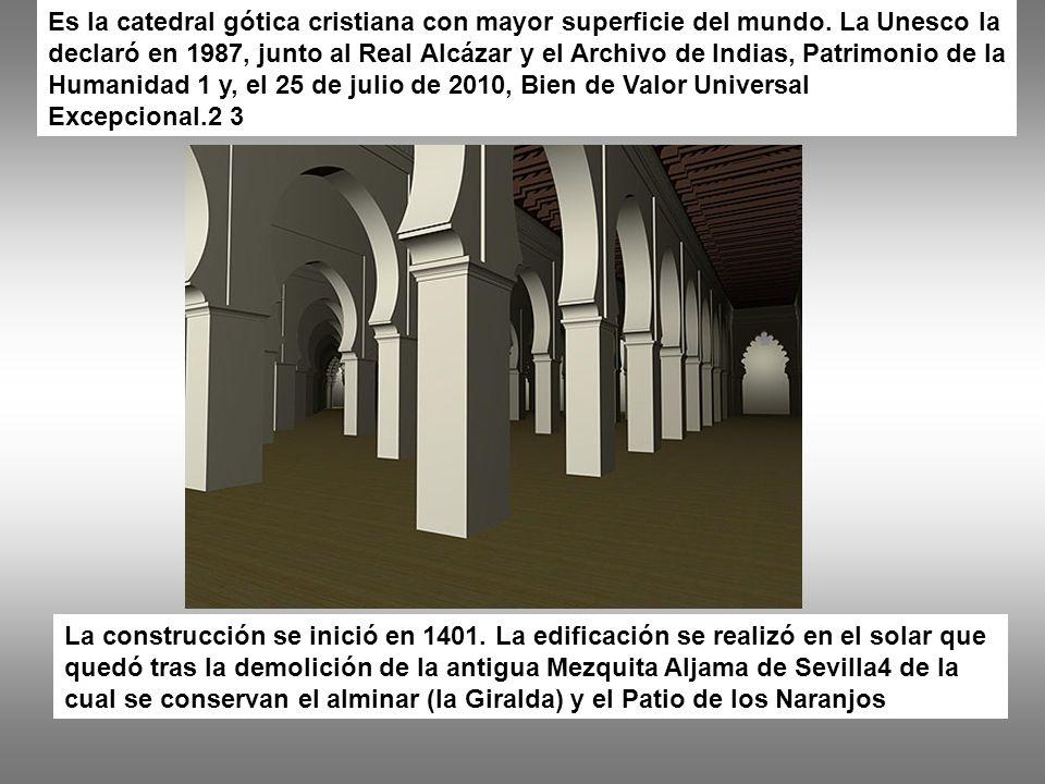 Es la catedral gótica cristiana con mayor superficie del mundo