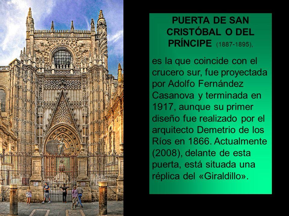PUERTA DE SAN CRISTÓBAL O DEL PRÍNCIPE (1887-1895),