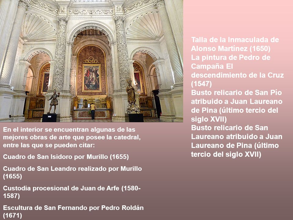 Talla de la Inmaculada de Alonso Martínez (1650)