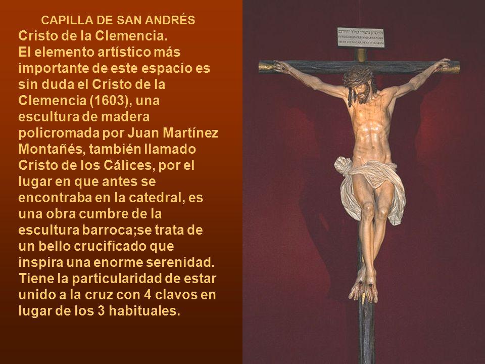 CAPILLA DE SAN ANDRÉS Cristo de la Clemencia.