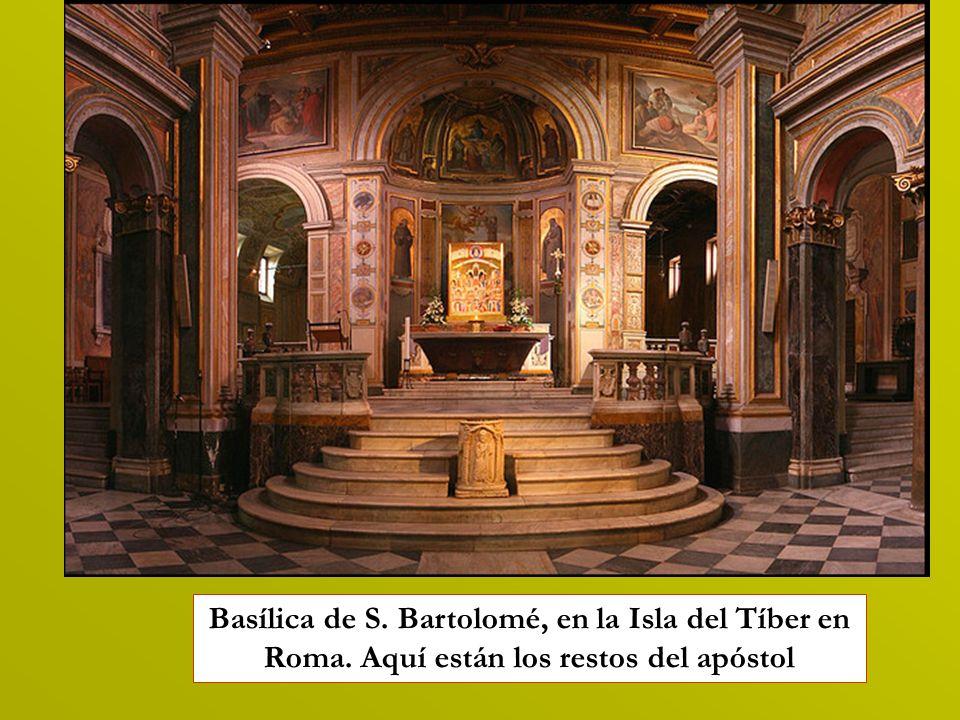 Basílica de S. Bartolomé, en la Isla del Tíber en Roma