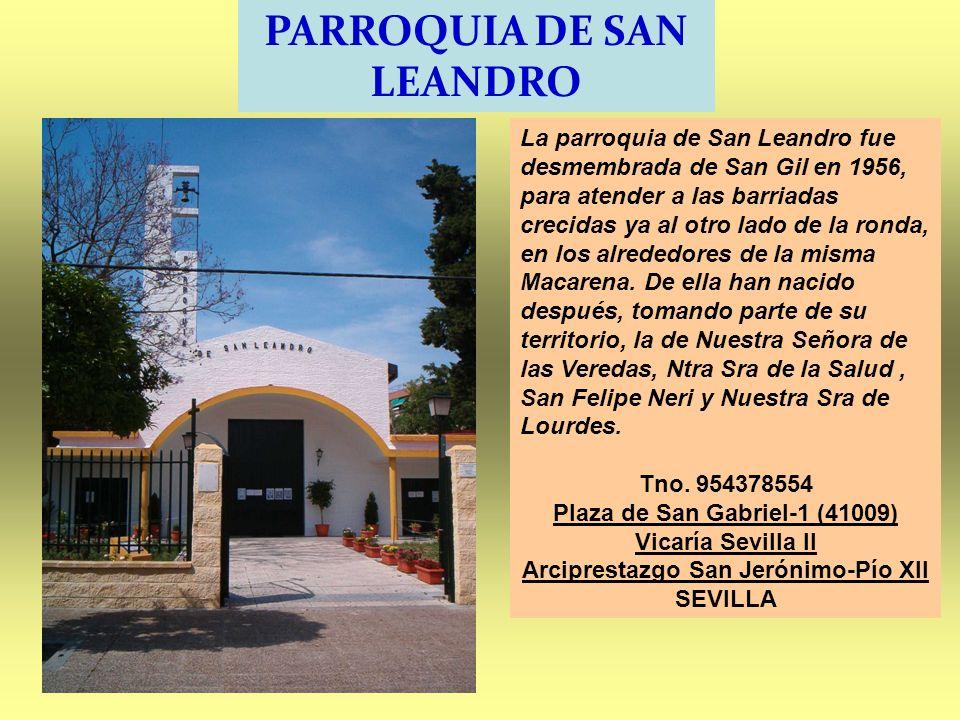 PARROQUIA DE SAN LEANDRO