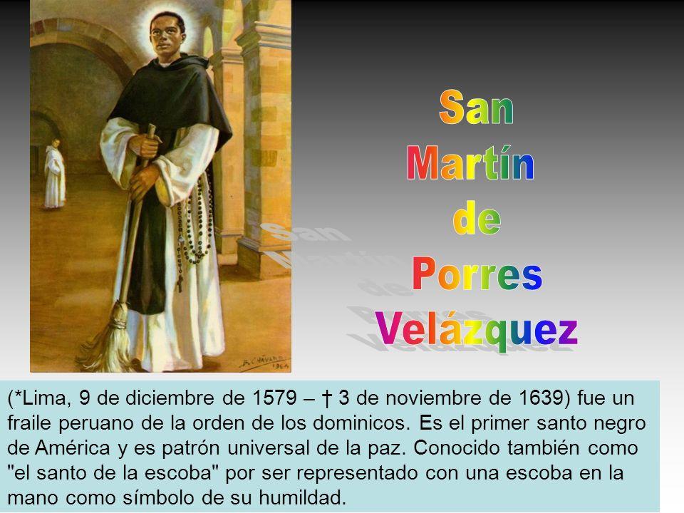San Martín de Porres Velázquez