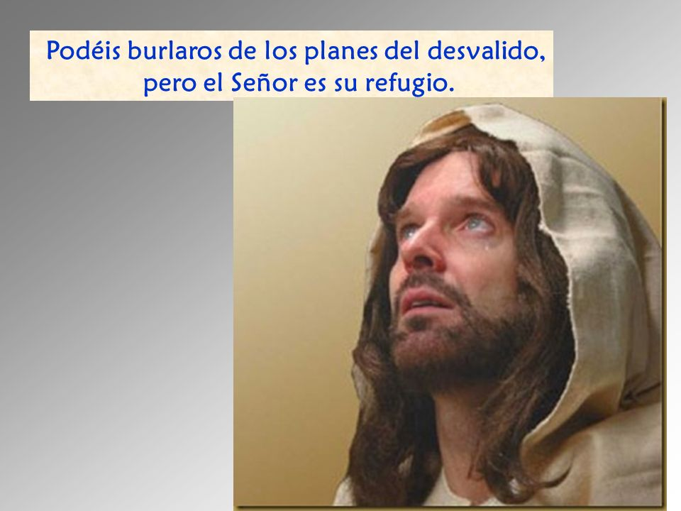 pero el Señor es su refugio.