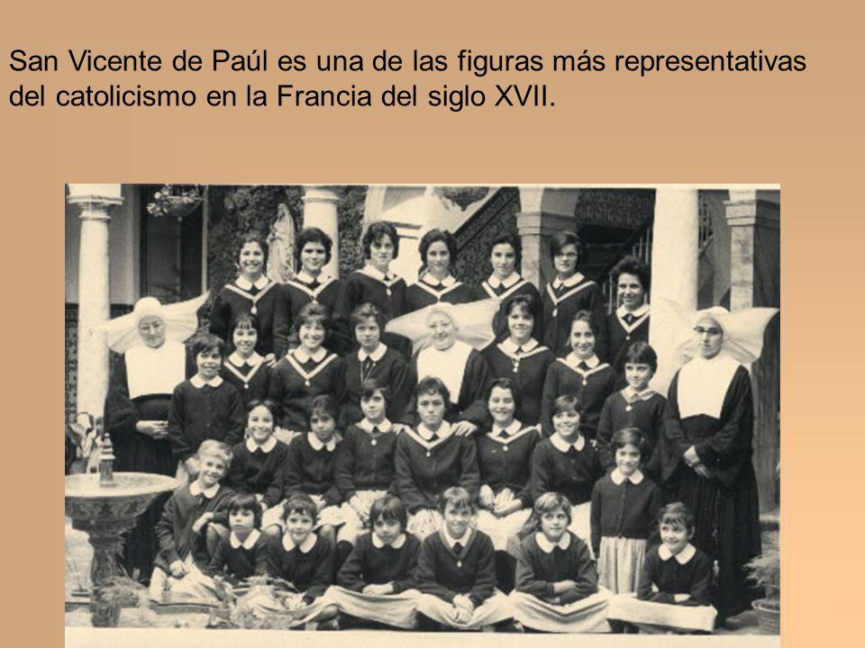 San Vicente de Paúl es una de las figuras más representativas del catolicismo en la Francia del siglo XVII.