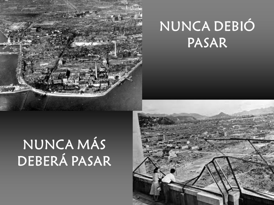 NUNCA DEBIÓ PASAR NUNCA MÁS DEBERÁ PASAR