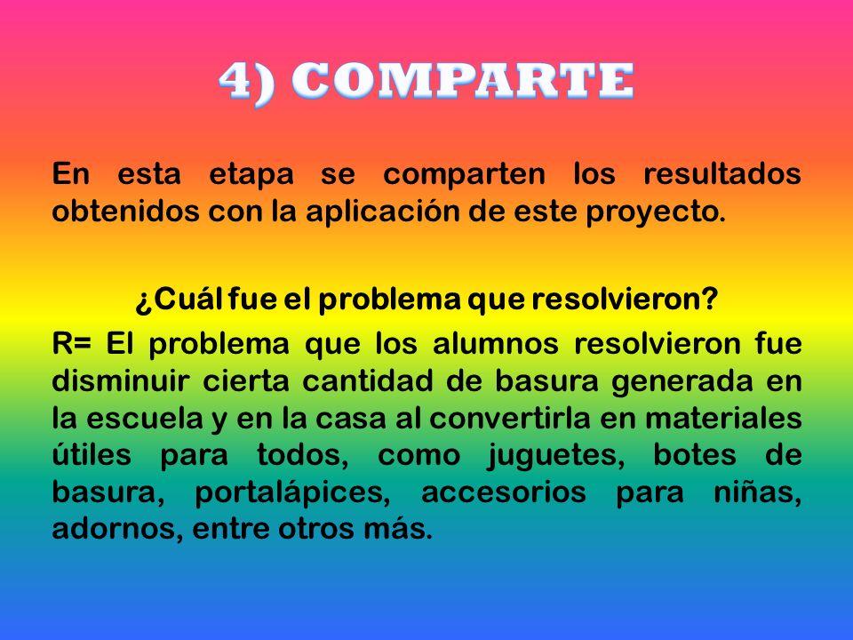 4) COMPARTE