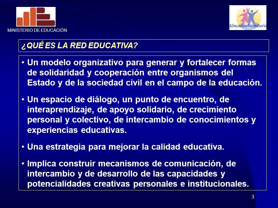 Una estrategia para mejorar la calidad educativa.