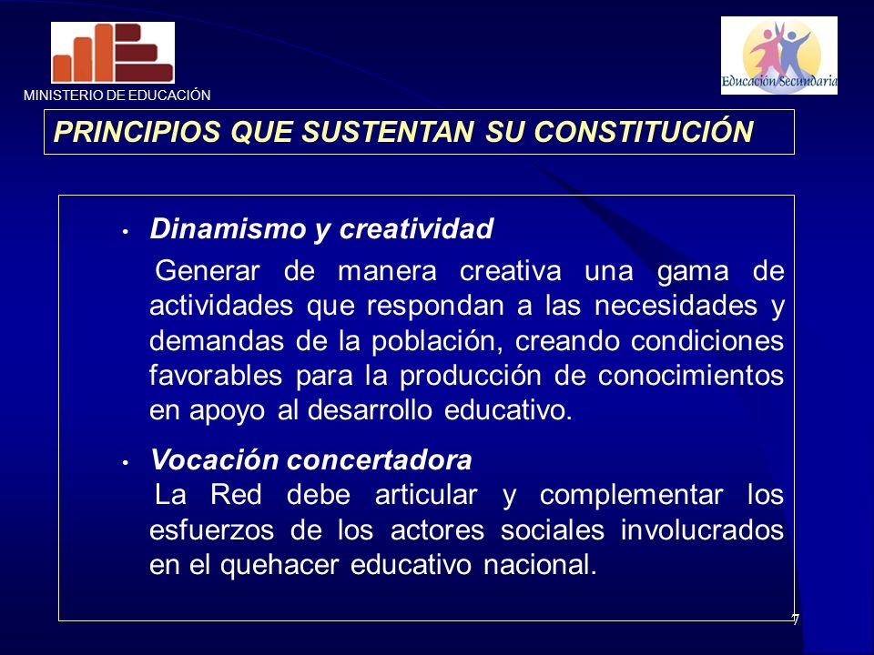 PRINCIPIOS QUE SUSTENTAN SU CONSTITUCIÓN