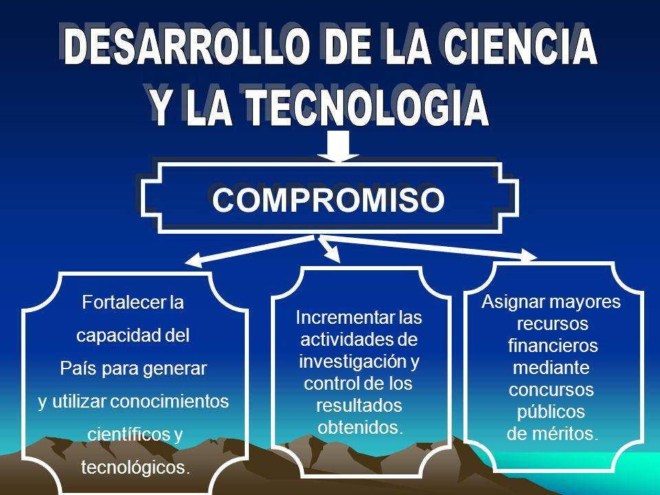 DESARROLLO DE LA CIENCIA Y LA TECNOLOGIA
