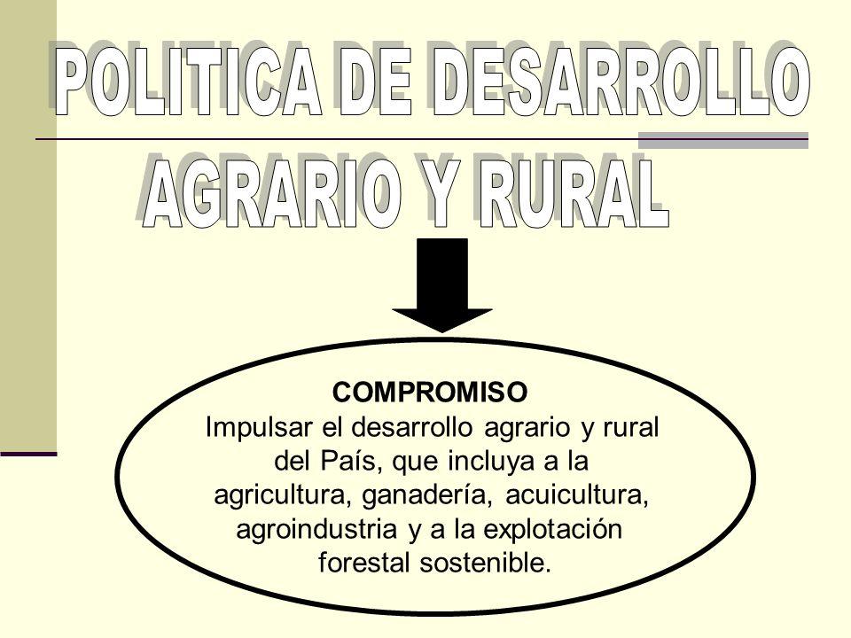 POLITICA DE DESARROLLO AGRARIO Y RURAL