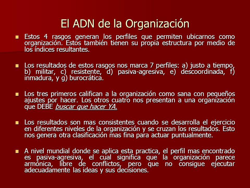 El ADN de la Organización