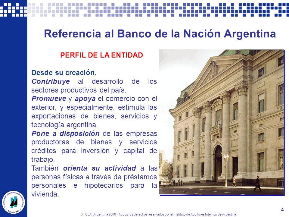 Referencia al Banco de la Nación Argentina