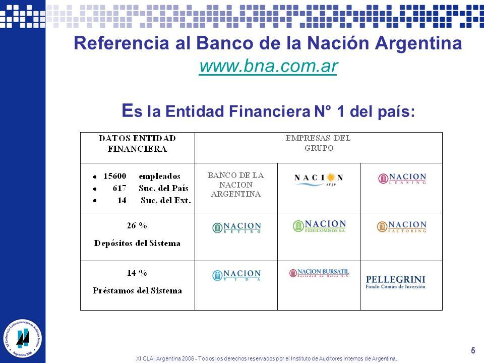 Referencia al Banco de la Nación Argentina www. bna. com