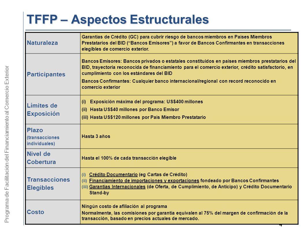 TFFP – Aspectos Estructurales