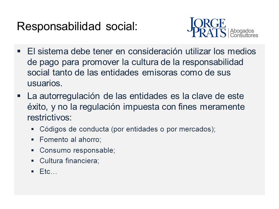 Responsabilidad social: