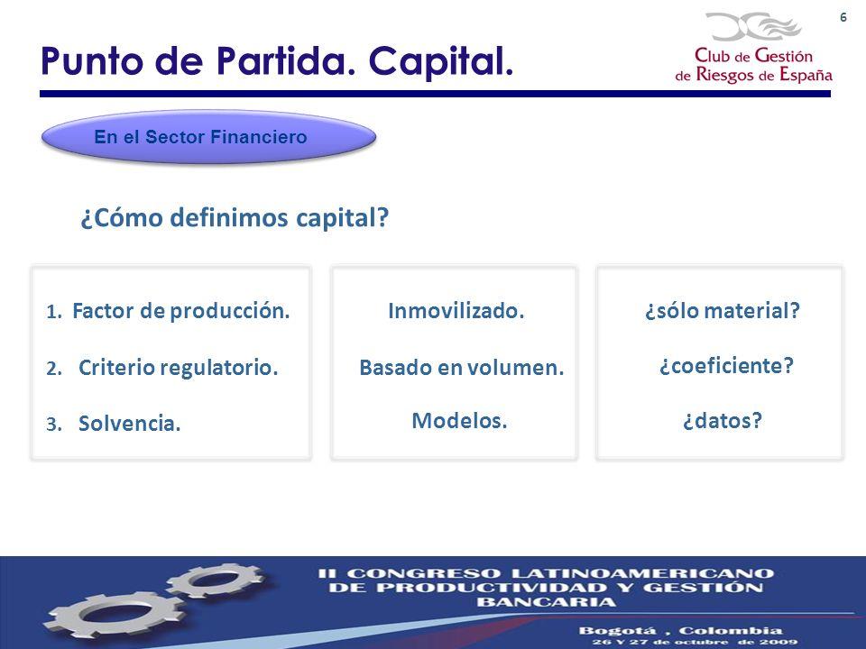 Punto de Partida. Capital.