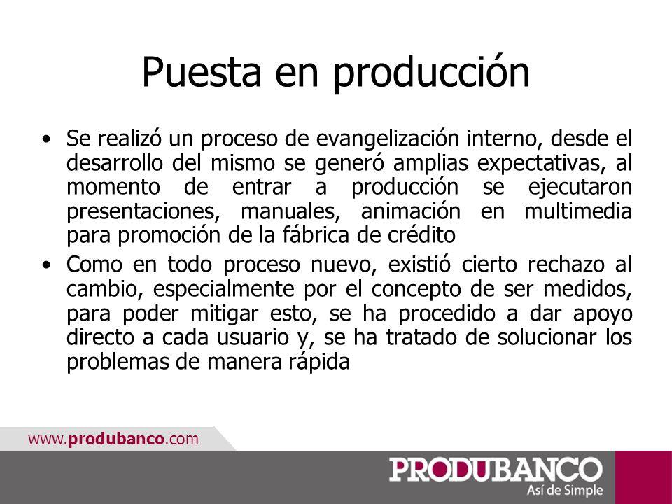 Puesta en producción