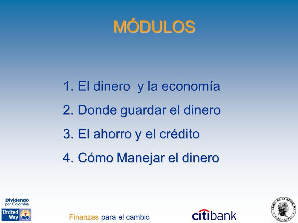 Finanzas para el cambio