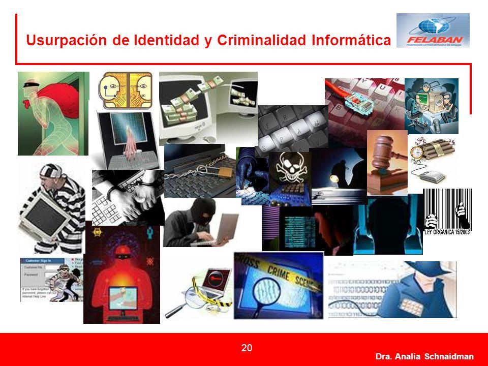 Usurpación de Identidad y Criminalidad Informática