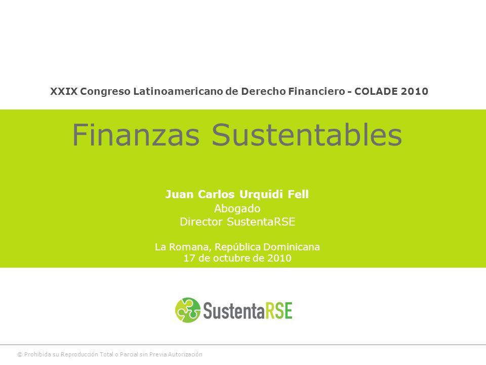 Finanzas Sustentables