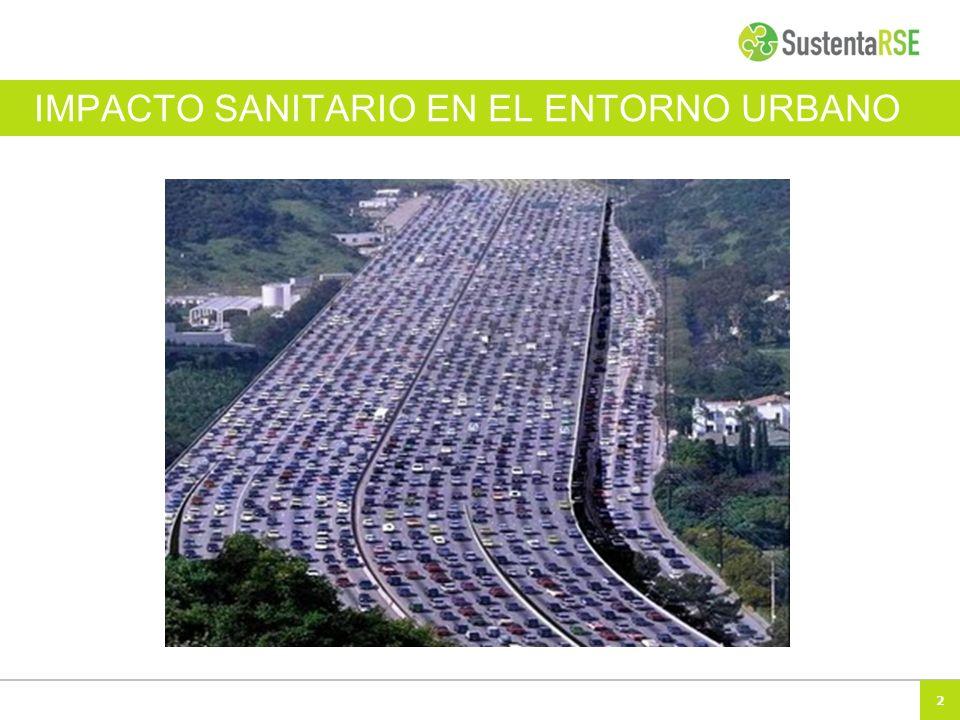 IMPACTO SANITARIO EN EL ENTORNO URBANO