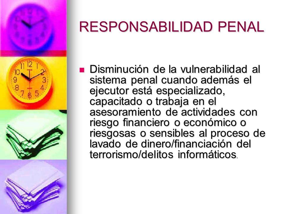 RESPONSABILIDAD PENAL