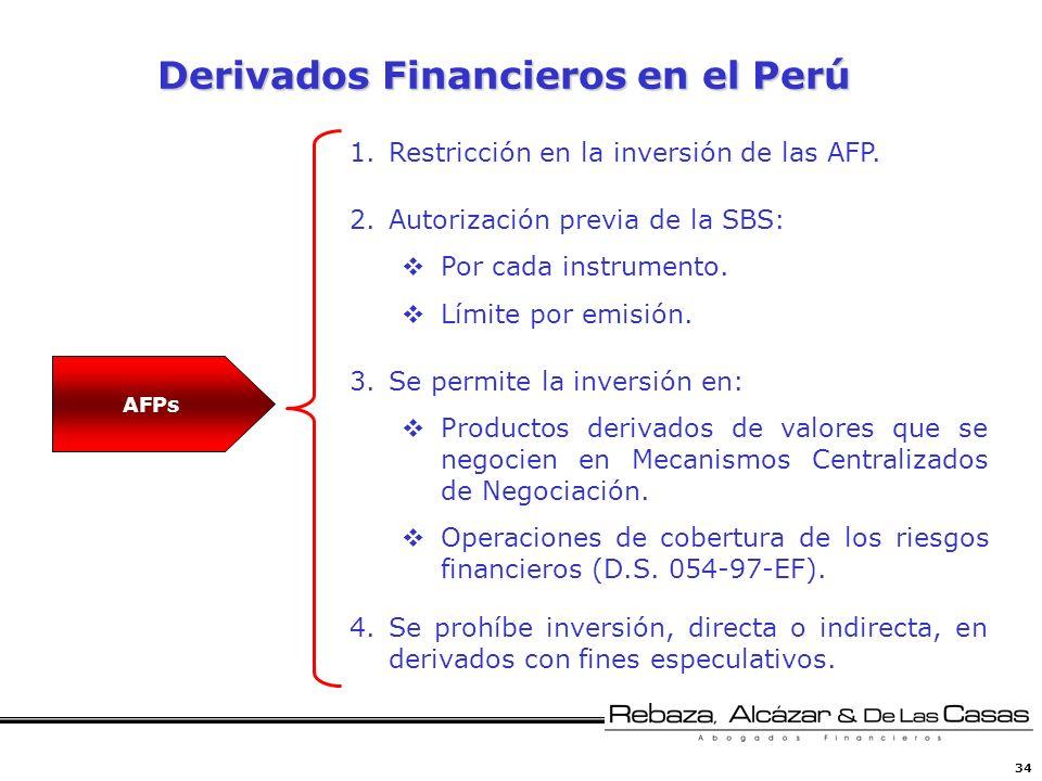 Derivados Financieros en el Perú