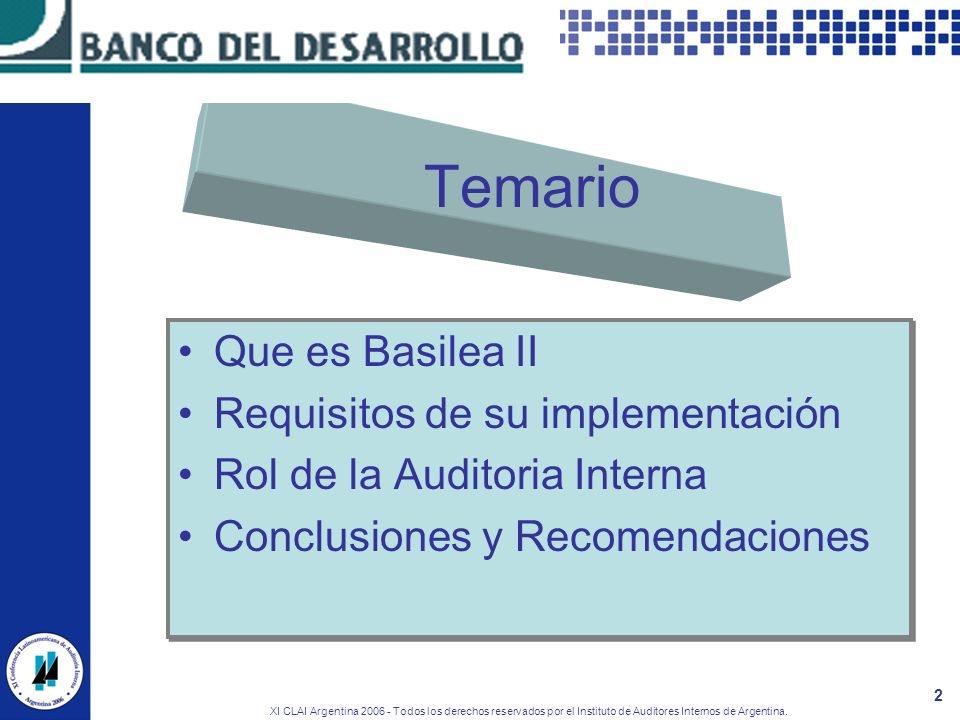 Temario Que es Basilea II Requisitos de su implementación