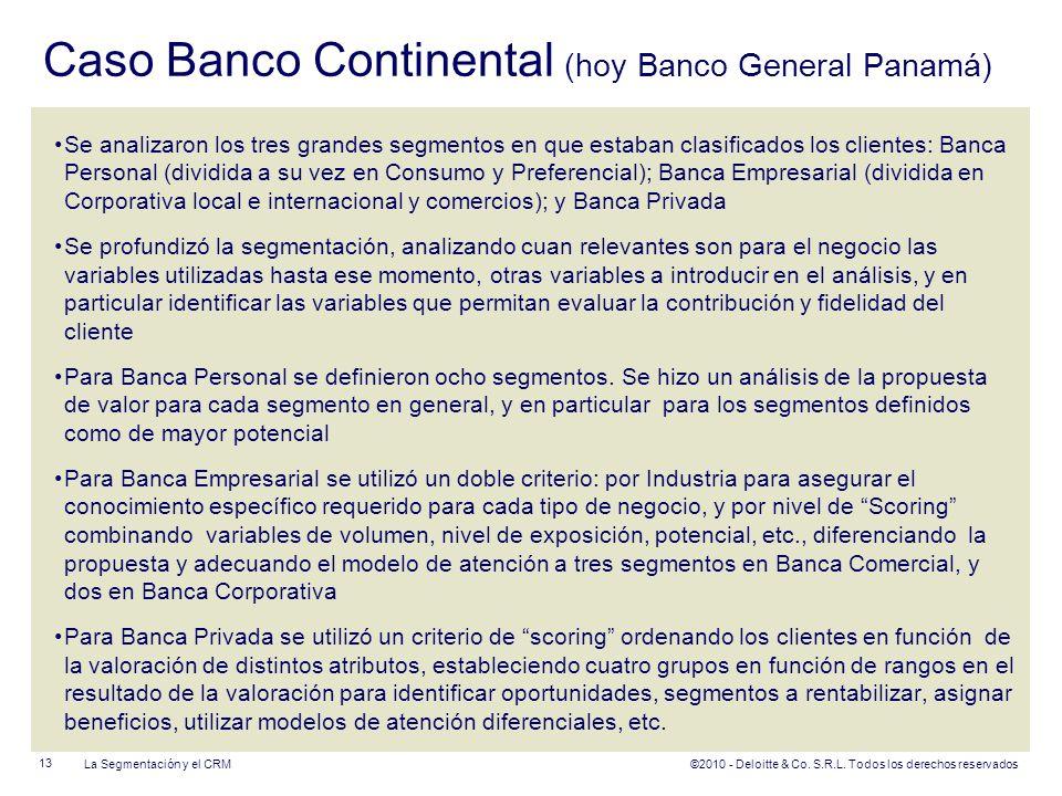 Caso Banco Continental (hoy Banco General Panamá)