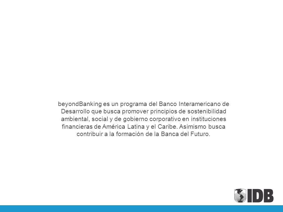 beyondBanking es un programa del Banco Interamericano de