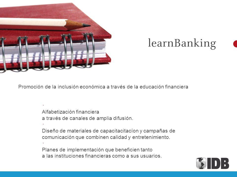 Promoción de la inclusión económica a través de la educación financiera