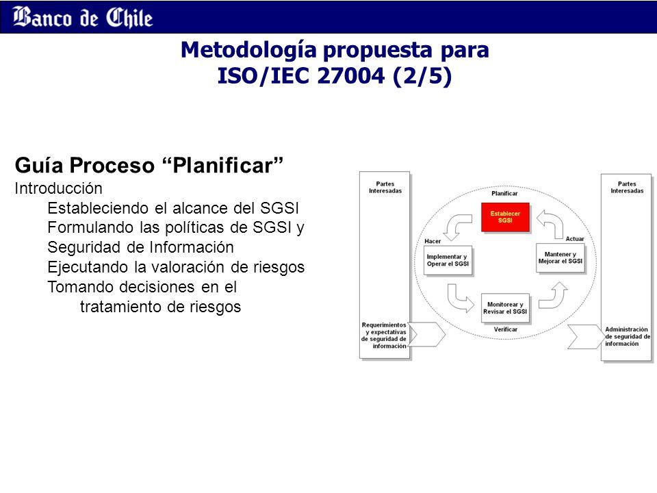 Metodología propuesta para ISO/IEC 27004 (2/5)
