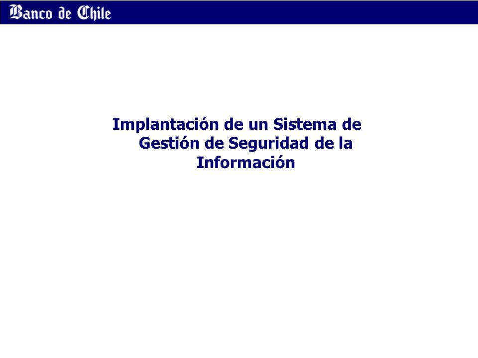 Implantación de un Sistema de Gestión de Seguridad de la Información