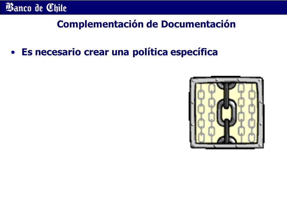 Complementación de Documentación