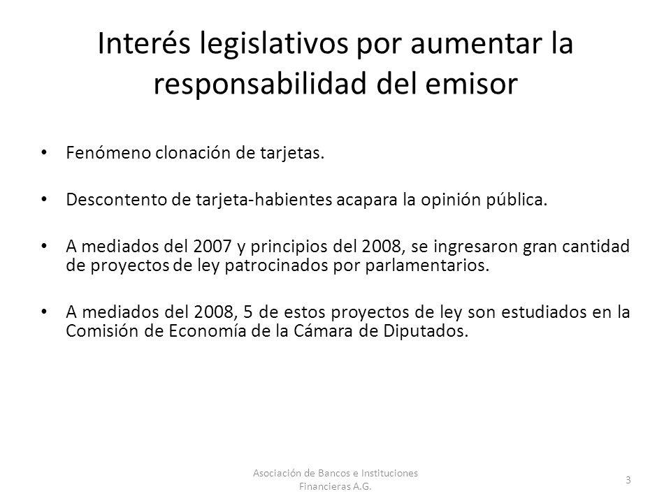 Interés legislativos por aumentar la responsabilidad del emisor