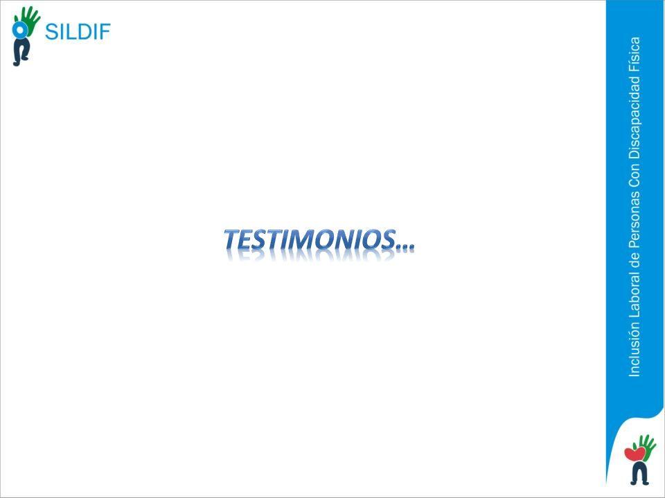 Testimonios…