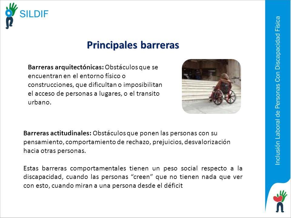 Principales barreras