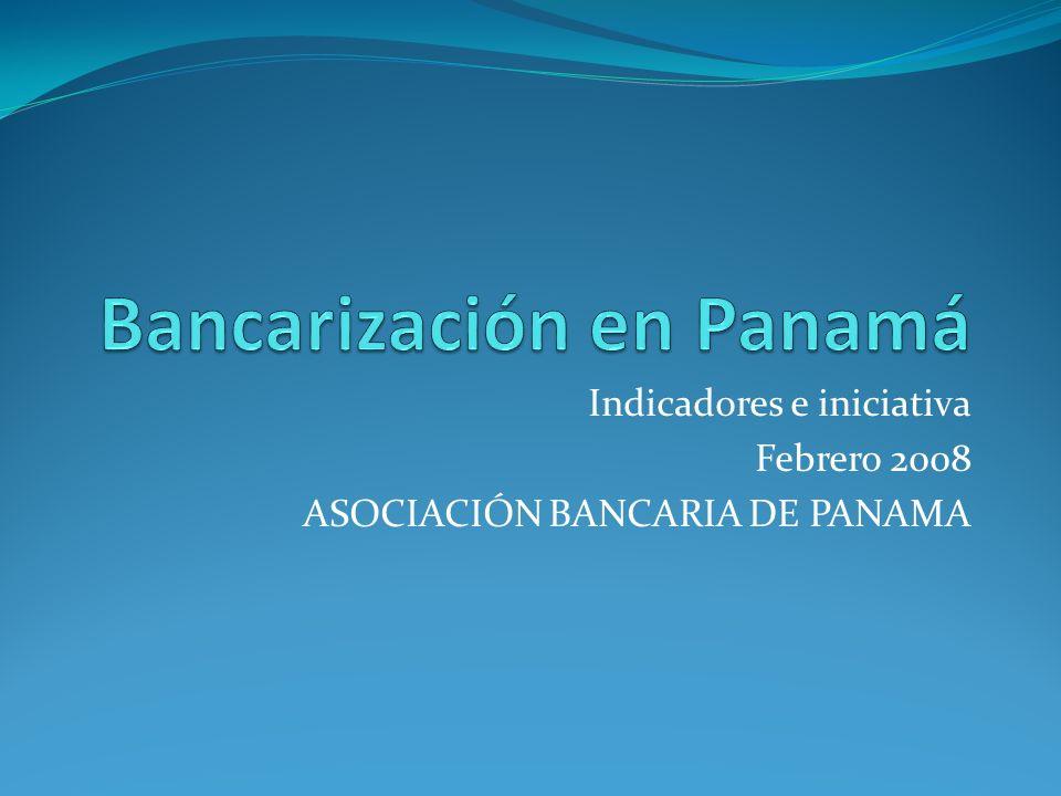 Bancarización en Panamá