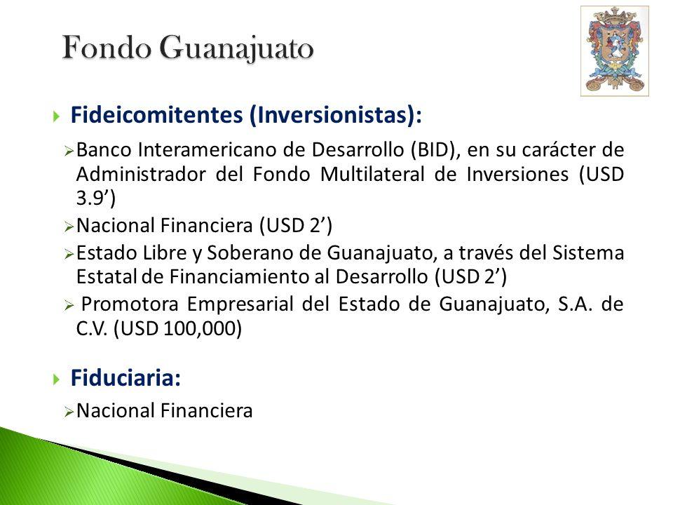 Fondo Guanajuato Fideicomitentes (Inversionistas): Fiduciaria: